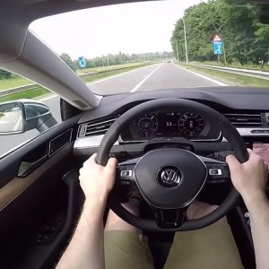 New VW Arteon From The Driver's POV