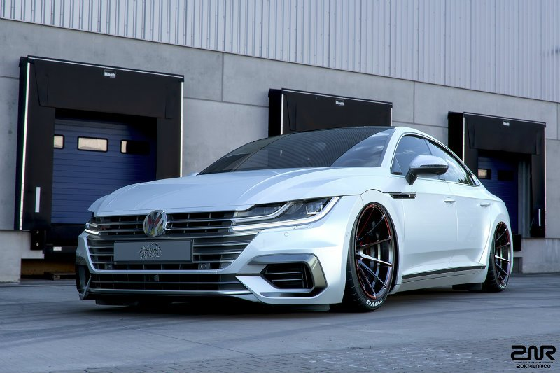 tuned volkswagen arteon rendering volkswagen arteon forum. Black Bedroom Furniture Sets. Home Design Ideas